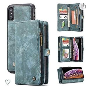 iPhone XS Max case and wallet